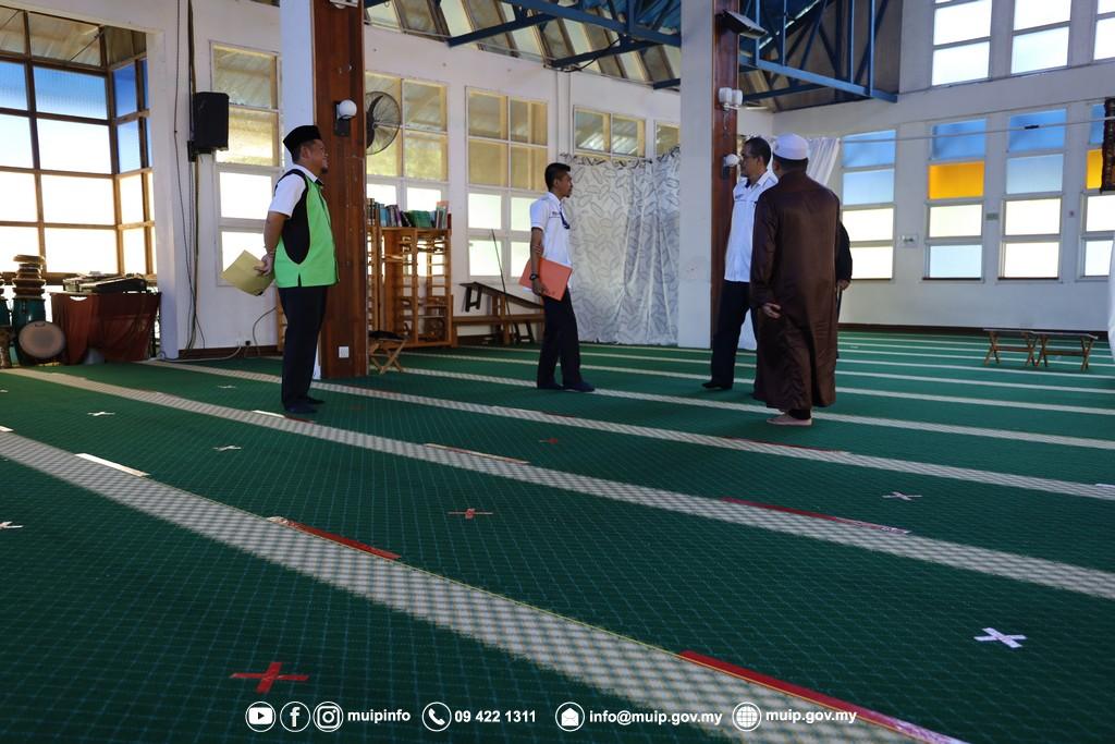 Pemantauan Persediaan Pembukaan Maahad Tahfiz (8)
