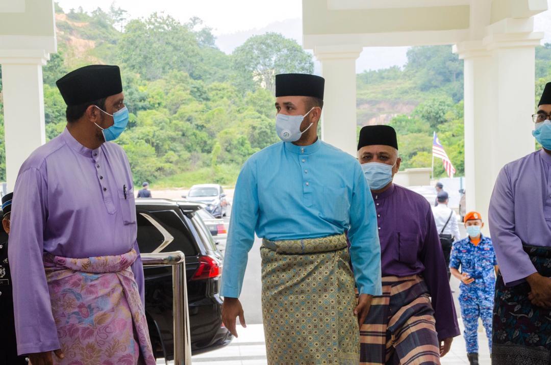 Solat Jumaat Pertama di Masjid Baru Benta (1)