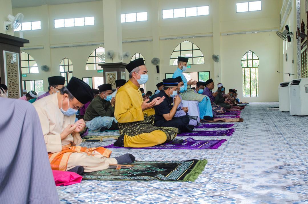 Solat Jumaat Pertama di Masjid Baru Benta (7)