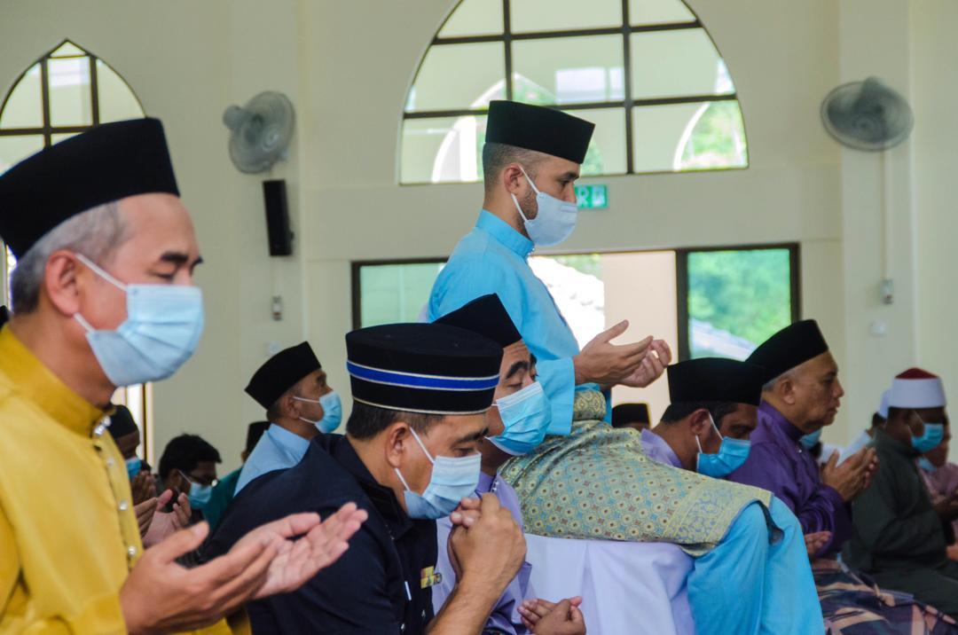 Solat Jumaat Pertama di Masjid Baru Benta (9)