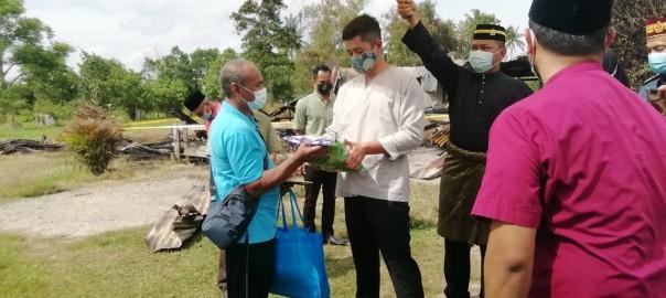 KDYMM PRP Santuni Keluarga Mangsa Kebakaran (3)